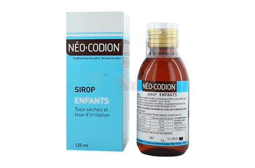 Néo-codion sirop contre la toux dangereux pour les enfants