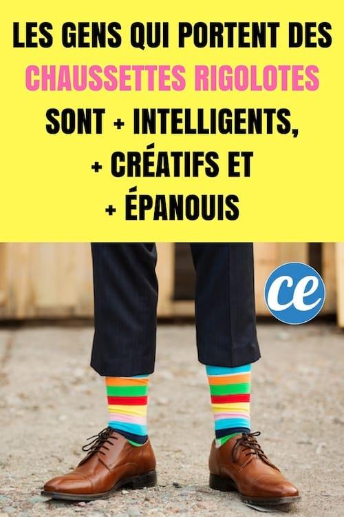 Que révèlent les chaussettes insolites sur la personnalité de ceux qui les portent ?