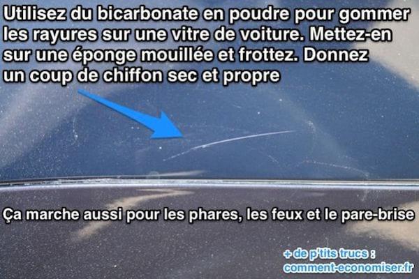 Comment effacer les rayures sur les vitres de voiture