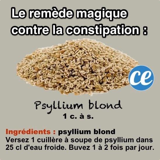 Le Remède Magique Contre La Constipation (Immédiat Et