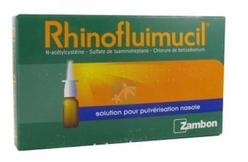Rhinofluimucil est un médicament dangereux pour les enfants