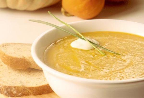 recette de la soupe au potiron