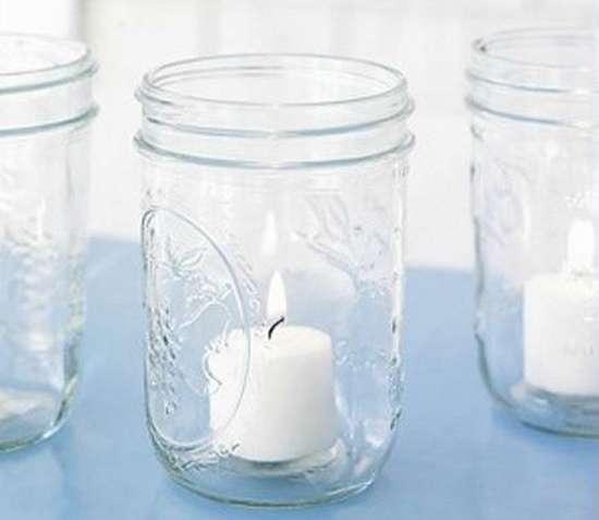 faire un lampion ou photophore avec bocal recyclé
