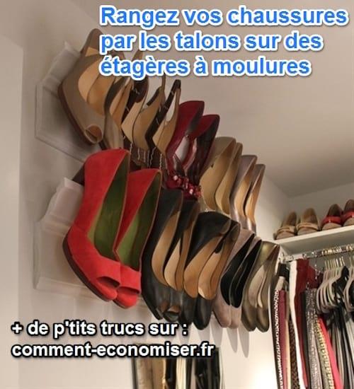le dernier 83973 ece8a Stockez Vos Chaussures Astucieusement en Libérant de la Place.