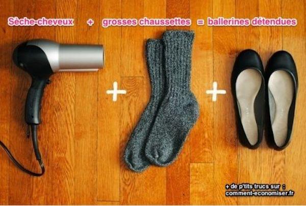 11 utilisations surprenantes de votre s che cheveux - Enlever odeur chaussure rapidement ...