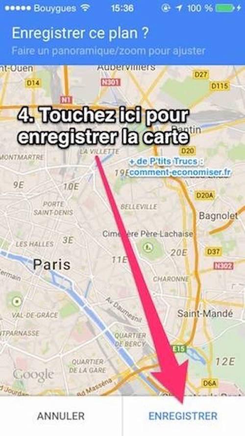 utilisez google maps pour retrouver facilement votre voiture