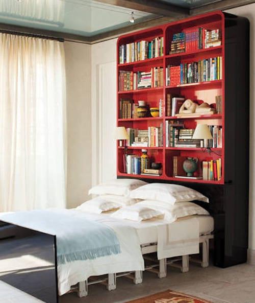 15 astuces g niales pour gagner de la place dans une p 39 tite chambre. Black Bedroom Furniture Sets. Home Design Ideas