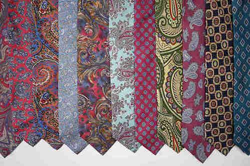 utilisez de vielles cravates pour décorer des oeufs de paques