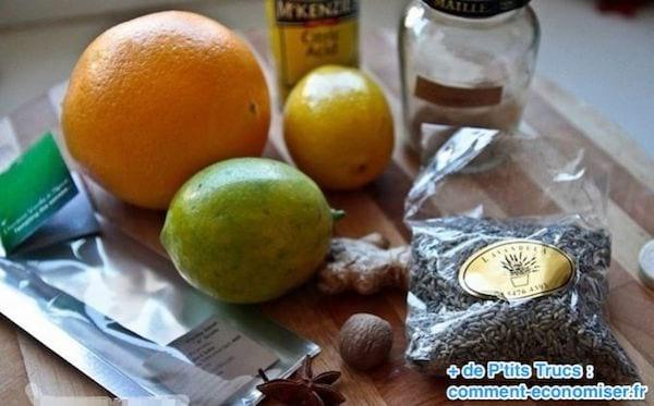 Les ingrédients pour faire du coca cola maison
