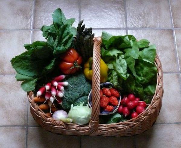 Des légumes colorés