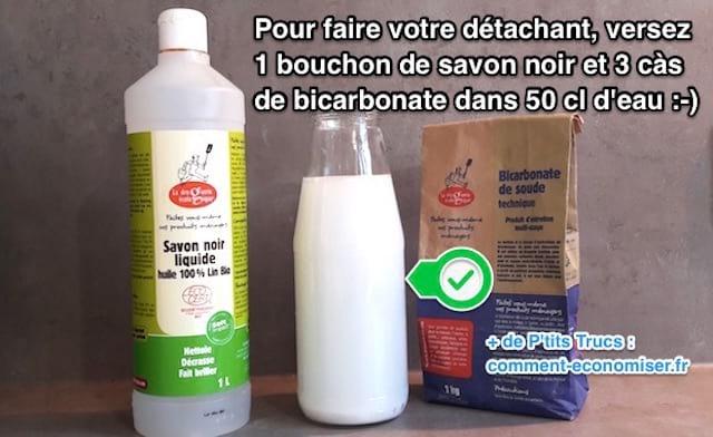 Plus besoin de k2r voici la meilleure recette de d tachant fait maison - Insecticide savon noir bicarbonate ...