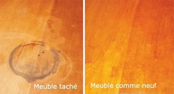 vous avez une table en bois 11 astuces miracle pour faire dispara tre toutes les taches. Black Bedroom Furniture Sets. Home Design Ideas