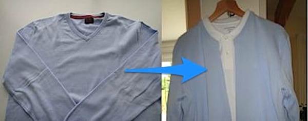 changer un cardigan en petit pull