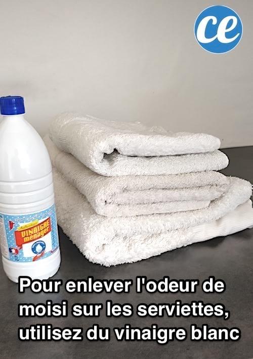 Astuce Pour Enlever Les Mauvaises Odeurs Des Serviettes De Toilettes