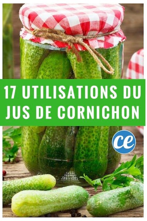 17 utilisations du jus de cornichons pour ne plus jamais le jeter