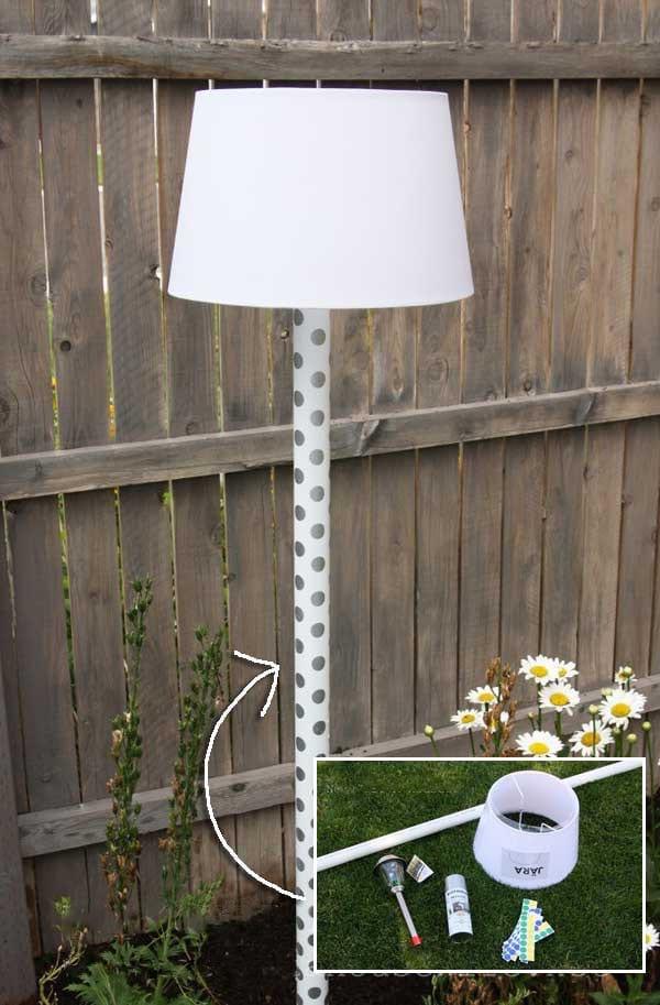 Fabriquer lampe solaire fabriquer lampe solaire lampe for Fabriquer luminaire exterieur