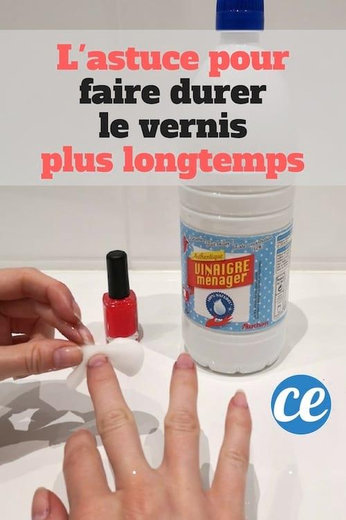Comment faire tenir le vernis à ongles plus longtemps