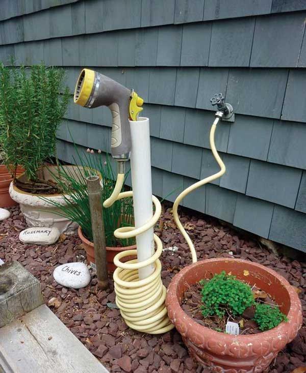 jardin 20 fa ons ing nieuses d 39 utiliser les tuyaux en pvc. Black Bedroom Furniture Sets. Home Design Ideas