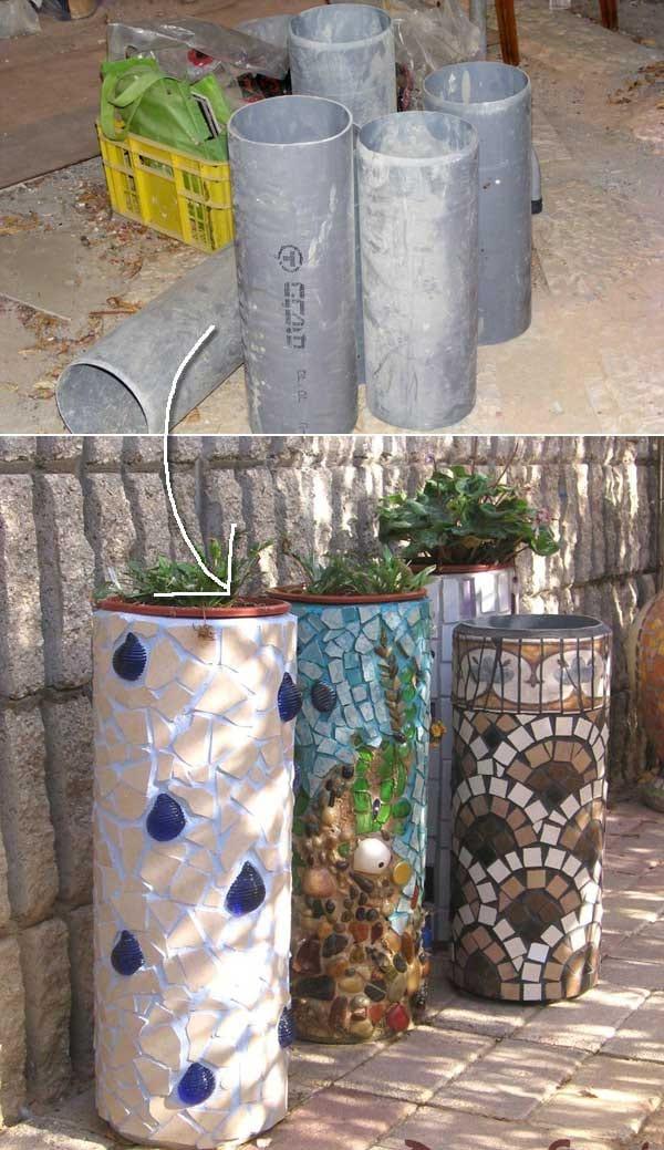 Jardin 20 Façons Ingénieuses Dutiliser Les Tuyaux En Pvc