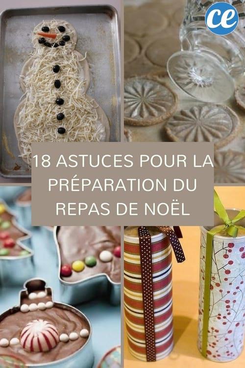 Plat De Repas De Noel.18 Astuces Ingénieuses Pour Vous Faciliter La Préparation Du