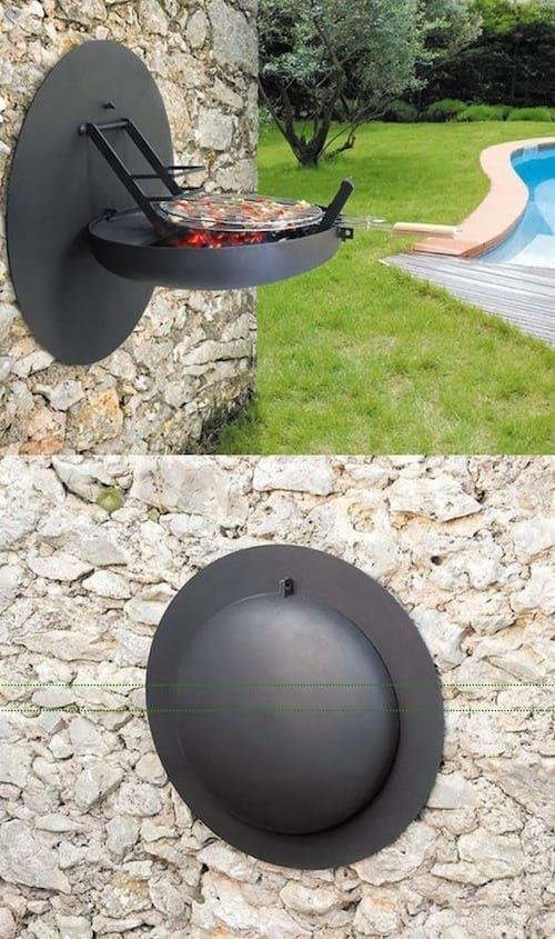 Barbecue qui ne prend pas de place