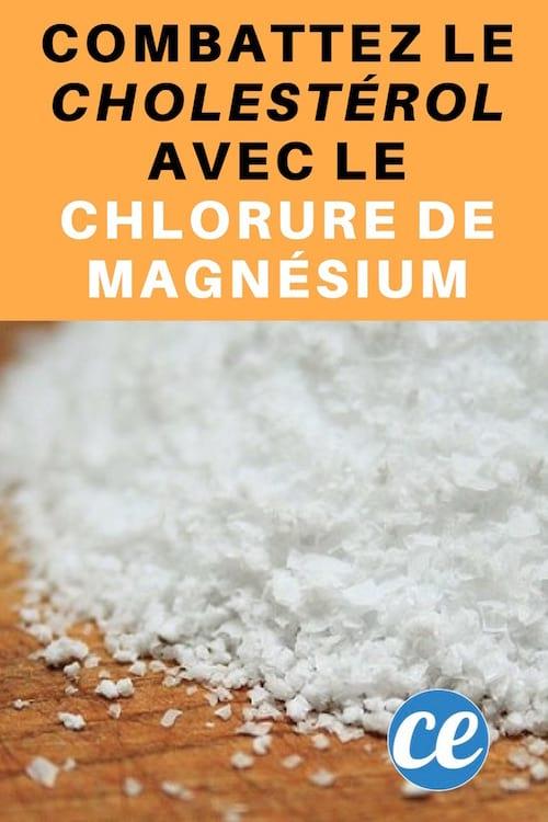 Une cure de chlorure de magnésium