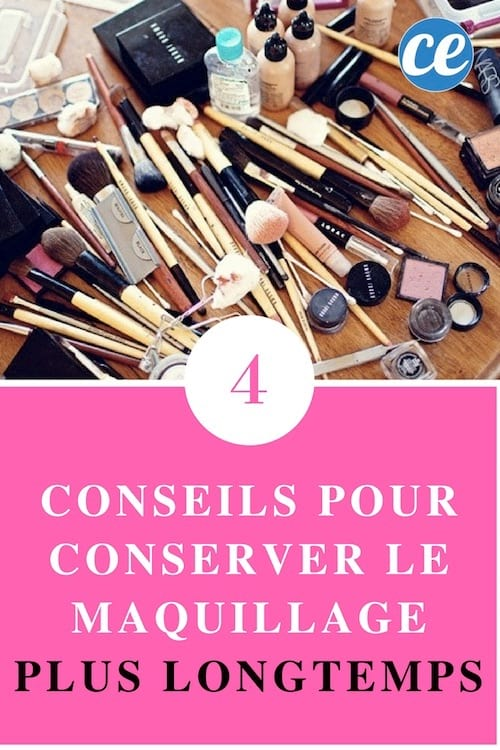 4 conseils pour conserver le maquillage plus longtemps. Black Bedroom Furniture Sets. Home Design Ideas