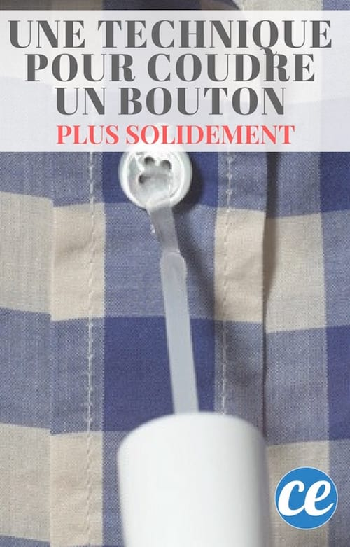 comment coudre un bouton plus solidement avec du vernis à ongles