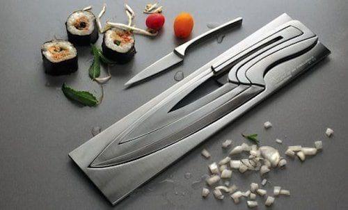 rangement couteau ingénieux