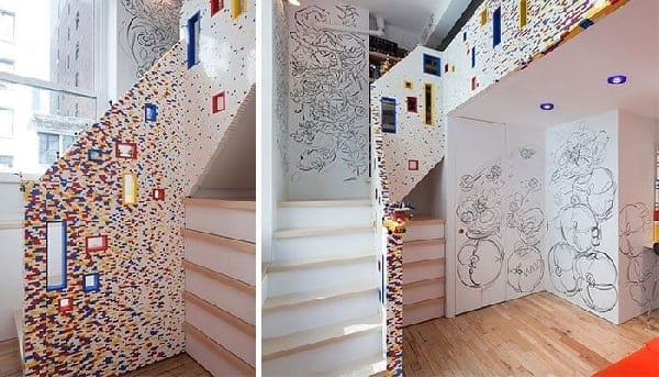decoration-escalier-coloree-lego