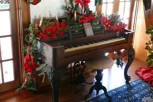 Décorez piano de Noel