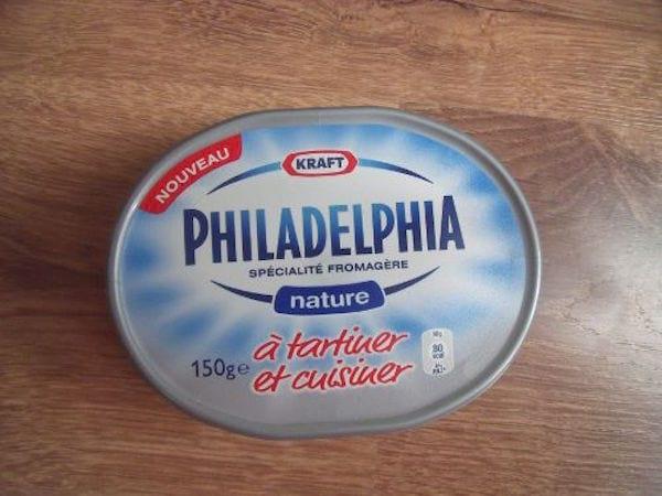 boite de spécialité fromagère philadelphia