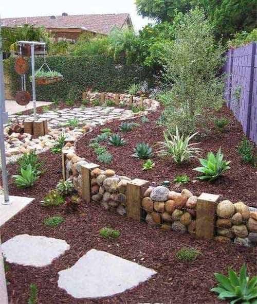11 superbes bordures de jardin que vous aimeriez bien. Black Bedroom Furniture Sets. Home Design Ideas