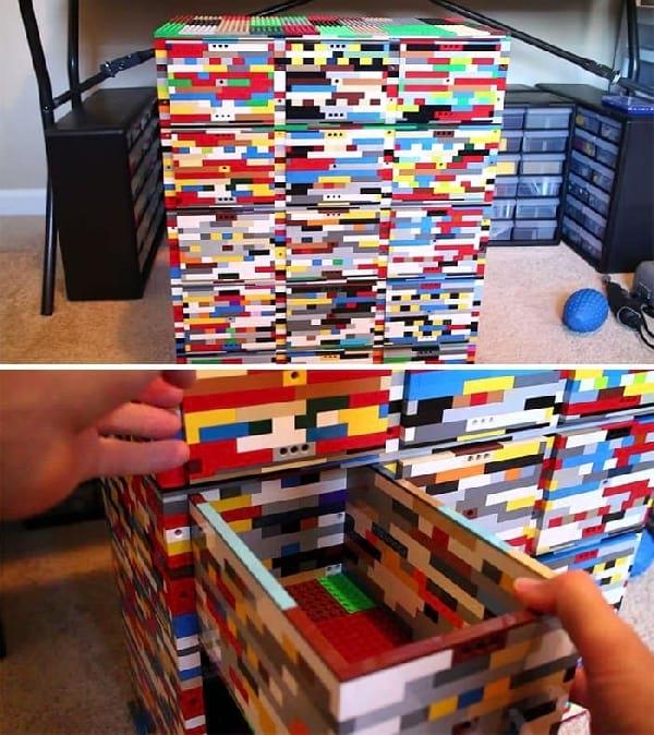 40 utilisations des lego auxquelles vous n 39 auriez jamais pens. Black Bedroom Furniture Sets. Home Design Ideas