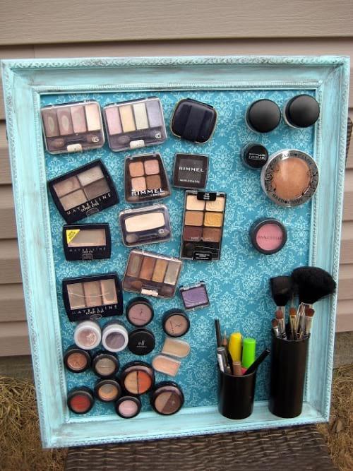 Rangez Votre Maquillage Sur Cet Adorable Tableau Magntique