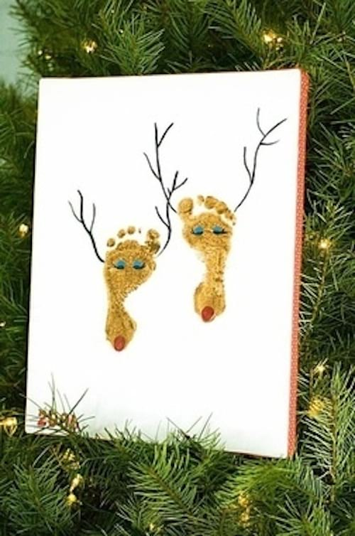 Tableau de Noel fait par les enfants