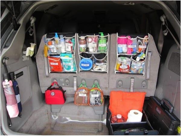 Comment utiliser un range-chaussures comme espace de rangement pour la voiture ?