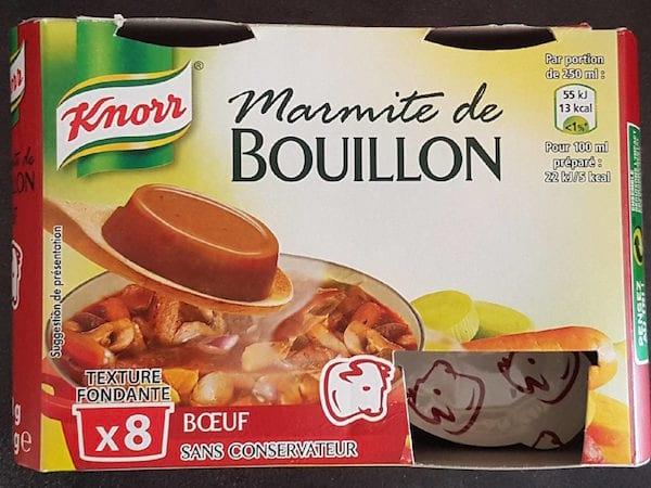 bouillon Knorr au boeuf