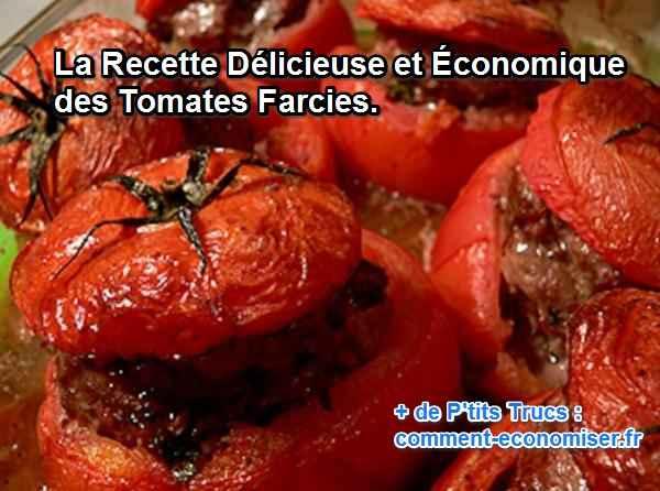 tomates farcies à la provencale pas chère