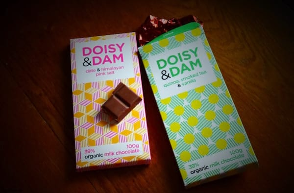 tablettes de chocolat Dam