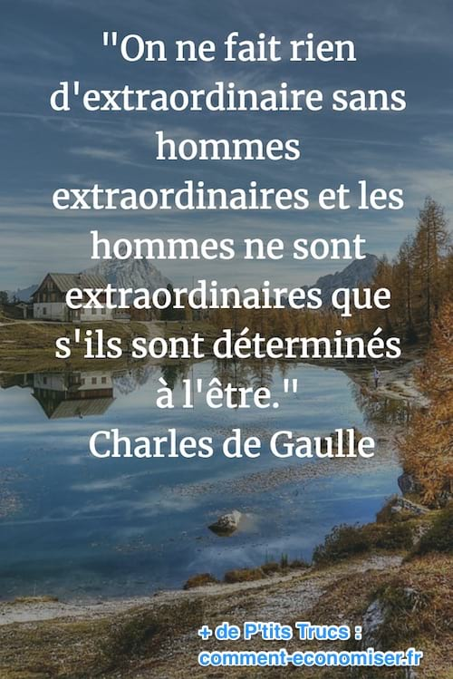 citation de charles de gaulles