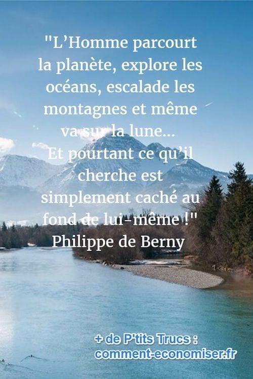 citation sur la connaissance de soi-même de philippe de Berny