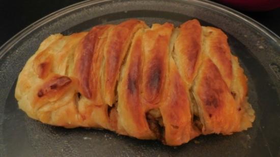 cuisiner un feuilleté avec des restes de viande