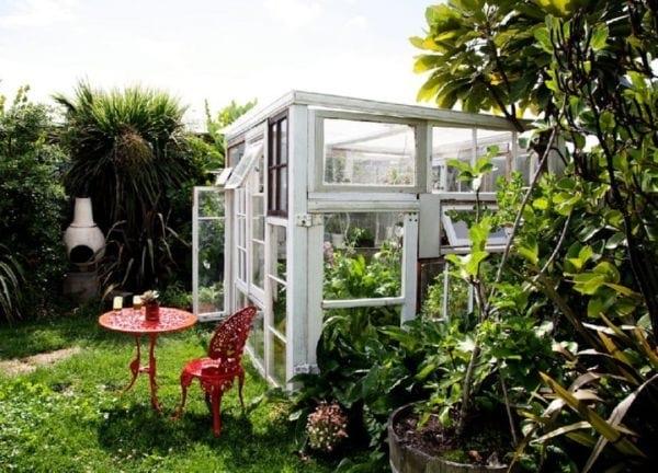 20 Façons Créatives De Recycler les Vieilles Fenêtres