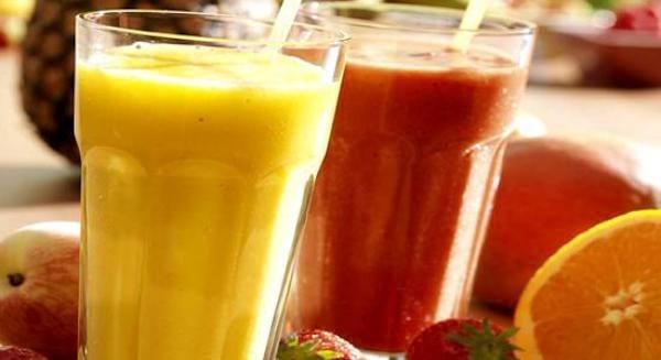 Un cocktail de fruits frais mixés 100% naturel pour faire le plein