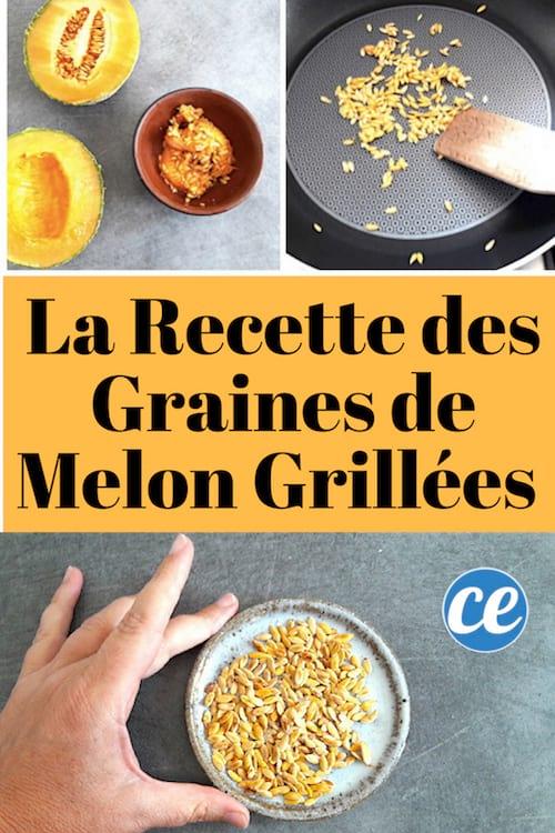 la recette pour faire des graines de melon griillées