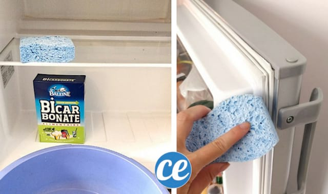 frigo sale comment le nettoyer de fond en comble avec du bicarbonate. Black Bedroom Furniture Sets. Home Design Ideas
