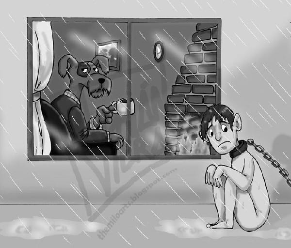 humain-qui-dort-dehors-comme-chien