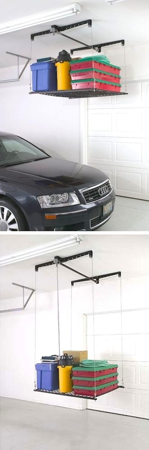 28 super id es de rangement pour le garage ne ratez pas for Investir dans un garage