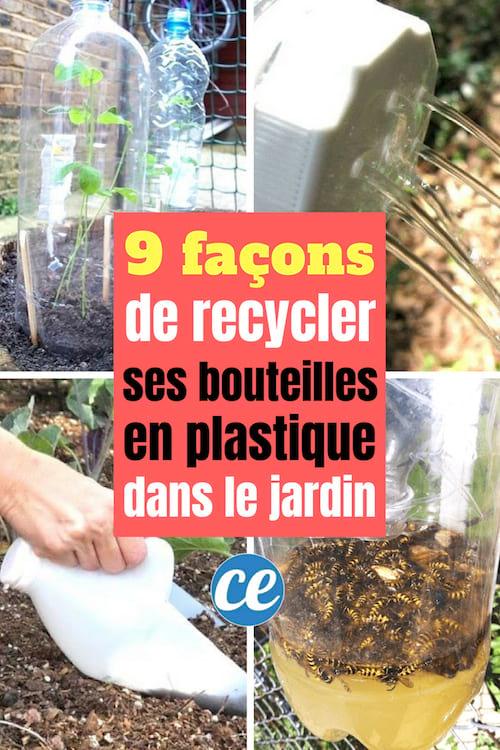 9 Façons Géniales de Recycler Ses Bouteilles En Plastique ...